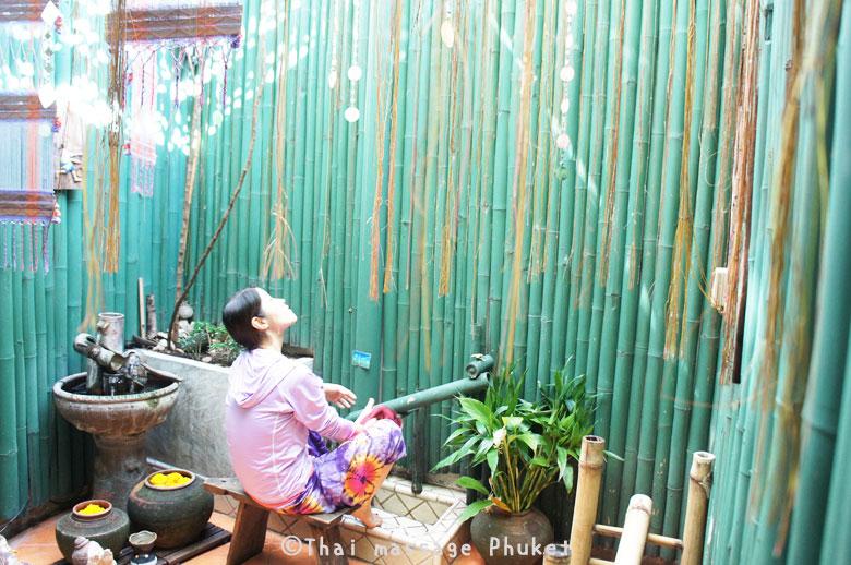 Spa Mantra 足洗い場