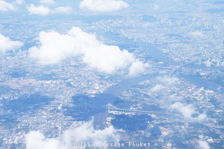 BANGKOK上空
