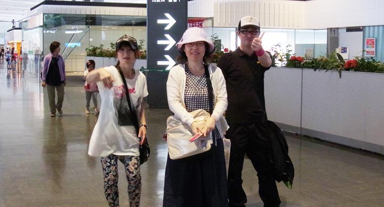 タイ研修2013 成田空港
